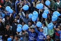 دیدار تیم های فوتبال استقلال و سیاه جامگان (عکس)