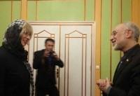 هلگا اشمید با رییس سازمان انرژی اتمی دیدار کرد