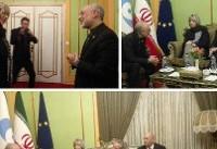 دیدار معاون موگرینی با صالحی در تهران (عکس)