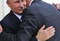 تصاویر/ دیدار روسای جمهور روسیه و سوریه در شهر سوچی روسیه