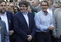 اعضای بازداشتی دولت کاتالونیا کنترل مادرید بر این منطقه را پذیرفتند