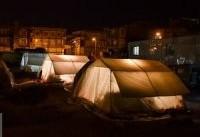 هشدار به زلزله زدگان؛ از سیم کشی غیراستاندارد در چادرها خودداری کنید