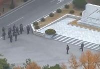 انتشار تصاویر فرار سرباز کره شمالی به کره جنوبی و گلوله خوردن او