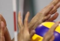 حادثه در لیگ والیبال/ انتقال پاسور تیم سایپا به بیمارستان