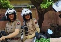اجرای طرح گشت پلیس موتورسوار زن در هند