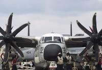هواپیمای نظامی آمریکایی با یازده سرنشین در آبهای ژاپن سقوط کرد