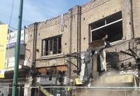 توقف تخریب ساختمان قدیمی در میدان قیام/تعلل میراث فرهنگی در پاسخ به استعلام شهرداری منطقه ۱۲