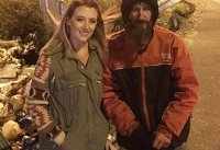 US woman raises more than $100,000 for homeless man who used last $20 to buy her petrol when she ...