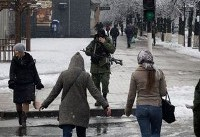 Ukraine rebel leader says situation in Luhansk is attempted coup
