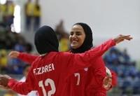دومین پیروزی فوتسال بانوان ایران مقابل لاجوردیپوشان ایتالیا