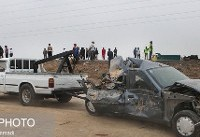 آخرین وضعیت راههای کشور/ تصادف پژو و وانت جان ۴ نفر را گرفت
