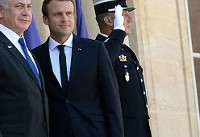 ماکرون: فرانسه مخالف است بیانیه ترامپ درباره قدس است/ نتانیاهو: اورشلیم ...