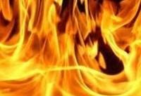 مرگ شوهر در آتش خشم همسر