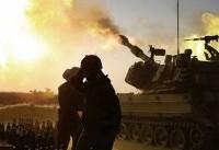 حمله توپخانه ارتش صهیونیستی به نقاط دیده بانی مقاومت در غزه