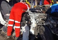 ۹ کشته و ۱۵ مجروح در تصادف زنجیره ای کرمان