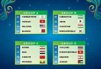 اعلام برنامه تیم ملی فوتسال ایران در جام ملتهای آسیا +عکس