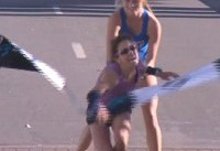 Woman Wins Dallas Marathon With the Help of a Stranger After Falling Near Finish Line