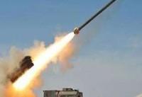 مواضع مزدوران سعودی در تعز، مورد هدف موشک بالستیک ارتش یمن قرار گرفت