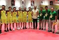 مسابقات جهانی سپک تاکرا/ بانکوک؛ مدال برنز برای تیم مردان کشورمان در
