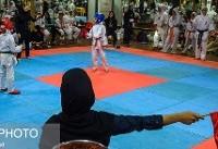 برگزاری هفته سوم سوپر لیگ کاراته بانوان