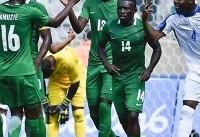 نیجریه از اخراج از جام جهانی نجات پیدا کرد