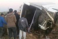 آخرین جزییات حادثه اتوبوس دانش آموزان در سوسنگرد