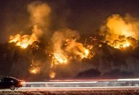 Over 6,000 firefighters battling southern California blaze