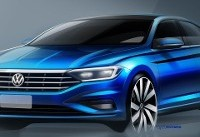 Volkswagen releases 2019 Jetta sketches ahead of Detroit reveal