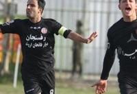 پیروزی خارج از خانه مس رفسنجان برابر ملوان