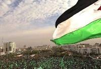 برگزاری جشن سالگرد تشکیل جنبش حماس در غزه