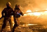 کارگاه تولید مبل در آتش سوخت