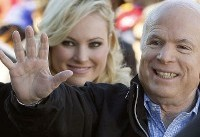 Biden consoles daughter of ailing Arizona Sen. John McCain