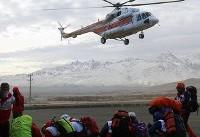 (تصاویر) پیدا شدن پیکر آخرین کوهنورد اشترانکوه