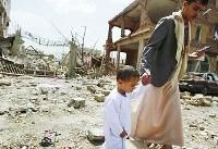 حمله جنگندههای عربستان به استان صعده/یک مسجد به طور کامل تخریب شد