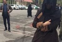 سارقان زن خودرو پرشیا در سعادت آباد دستگیر شدند