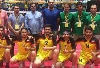 رقابتهای جهانی سپک تاکرا؛ تیم مردان ایران بر سکوی قهرمانی بخش رگو ایستاد