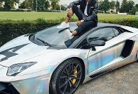 اتومبیل سوپرلوکس سریع ترین فوتبالیست دنیا +عکس