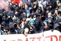 هزاران نفر در حمایت از پناهجویان و آوارگان در پایتخت ایتالیا تظاهرات کردند