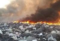 زباله&#۸۲۰۴;سوزی از علل اصلی آلودگی هوای تهران است