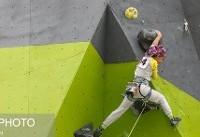 کسب نقره آسیا برای دختر نوجوان سنگنورد ایرانی