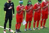 فوتبال پنج نفره ایران نایب قهرمان آسیا شد