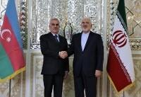 دیدار رئیس مجلس عالی جمهوری خودمختار نخجوان با ظریف