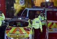 زیر گرفتن ۲ افسر پلیس به وسیله یک خودرو در لندن