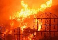 آتشی که خاموش نمیشود/بزرگترین آتش سوزی تاریخ کالیفرنیا را بشناسید +تصاویر