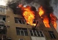 انفجار و آتشسوزی بر اثر نشت گاز آب گرمکن