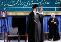 سران قوا، جمعی از مسئولان نظام و سفرای کشورهای اسلامی با رهبر انقلاب اسلامی دیدار میکنند