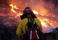 آتش سوزی گسترده در کالیفرنیا/هزاران نفر منازل خود را ترک کردند