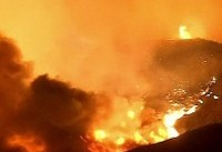 تخلیه هزاران خانواده در پی آتشسوزی در شمال لسآنجلس