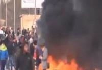 شدت گرفتن درگیری ها در میان تظاهرکنندگان فلسطینی و نظامیان صهیونیست