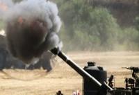 حمله توپخانهای رژیم صهیونیستی به پایگاه مقاومت فلسطین در غزه